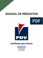 Manual de Productos PDV- Nov.2001