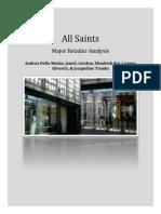 Major Retailer Analysis