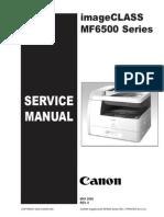 Manual de Servicio MF6500