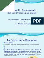 Educacion participativa