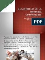 Desarrollo de La Medicina Veterinaria