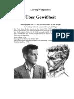 Wittgenstein, Ludwig - Über Gewißheit