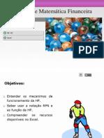 Revisão de Matemática Financeira com HP12C