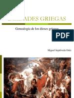 Genealogía de los dioses griegos