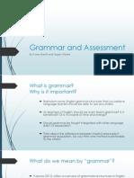 grammar and assessment - tegan adapt anne for portfolio
