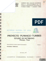 Puyango-Tumbes Tomo I