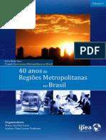 Livro 40 Anos de Regioes Metropolitanas v.1 Web
