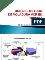 APLICACIÓN DEL metodo de voladura VCR EN mineria