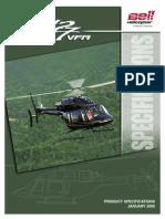 Bell 427 Technical Specs