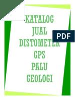 Katalog Penjualan Distometer _ Gps _ Palu Geologi _ Alat Survey _2010_ Asep Yadi _ Hp 081323264262 _ 087743596955 _ Pin Bb _ 747dc6d3 _ Rizky Muhammad Faisal _ 085223249203