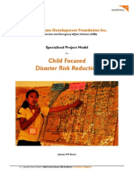 Wvdf Cfdrr Project Model_january 2014 Version