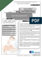 Prova Nutricionista UFMT