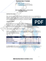 Instructivo ENES - SNNA - SENESCYT - Preuniversitario Formarte