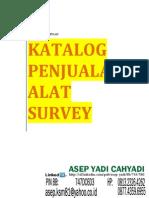 Katalog Jual Alat Survey _ Asep Yadi _ Hp 081323264262 _ 087743596955 _ Pin Bb _ 747dc6d3