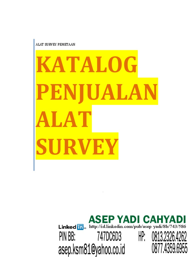Katalog Jual Alat Survey Asep Yadi Hp 081323264262 Steam Wallet Idr 400000 087743596955 Pin Bb 747dc6d3 Altimeter Field Of View