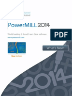 PowerMILL 2014 What's New