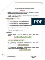 1. Intervalos e Inecuaciones Lineales