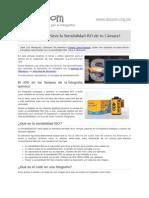 Sabes Para Que Sirve La Sensibilidad ISO de Tu Camara 11170