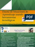 CURSO. DISEÑO DE SITUACIONES DE APRENDIZAJE USANDO HERRAMIENTAS TECNOLOGICAS