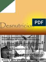 Desnutricion
