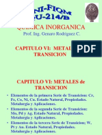 Cap 6 Metales de Transición