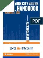New York marathon guide 2009