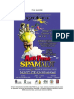 Reseña Obra de Teatro 2 - Spamalot -  El musical