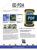 Recon Rugged PDA-Spec Sheet