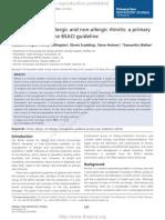 rhinitis guideline