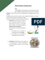 UNIDAD 4-Mezclas y Sustancias Puras