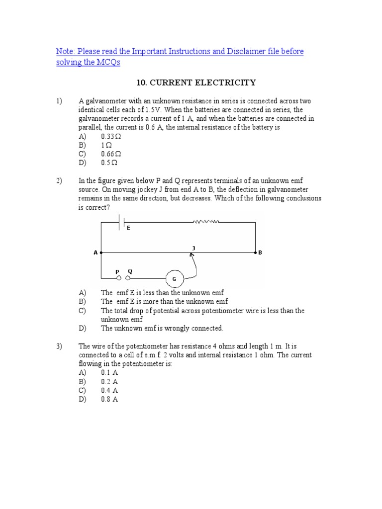 Current Electricity Series And Parallel Circuits Voltage Wiring Batteries In Or