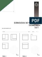 Plantillas de Ejercicios Dibujo Técnico.