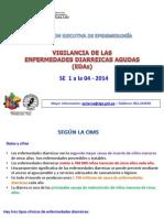 SITUACIÓN EPIDEMIOLOGICA de las EDAs SE 04-2014