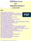 Codd, Clara M - The Mystery of Life & How Theosophy Unveils It