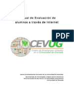 Manual de evaluacion a través de internet