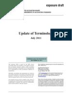 2011-07 Update of Terminology