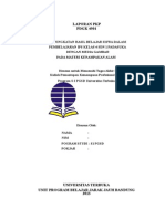 142518872 Laporan Pkp Ips Kelas 4 Sd Dengan Metode Media Gambar