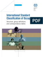 International Standard Classifi cation of Occupations 08