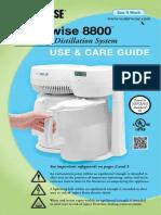 Waterwise 8800 Manual