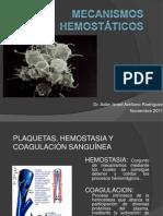 MECANISMOS HEMOSTÁTICOS