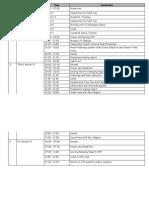 schedule field trip