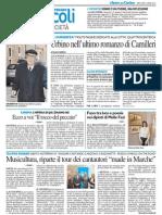 Urbino nell'ultimo romanzo di Camilleri - Il Resto del Carlino del 2 aprile 2014