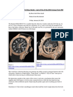 Richard Mille RM 63-01 Dizzy Hands – Last of Six of the 2014 Lineup From RM