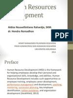 Human Resources Development Ppt