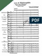 Mussorgsky - Chanson de Méphistophélès (trans. Stravinsky - orchestra)
