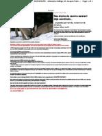 Des stocks de vaccins seraient déja constitués -aout 09