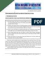 Berita Resmi BPS Sumut Bulan Pebruari 2014