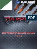 2003 ATV Polaris Predator 500 Factory Service Manual