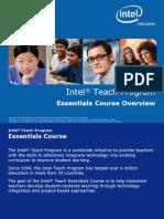 Intel Teach Essentials Course Overview