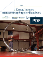 Wind Energy Industry MFG Supplier Handbook 1
